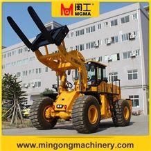 Stone Block Handler Forklift Wheel Loader Capacity 21 Tons Supply by Manufacturer
