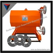 45kw, 55kw, 75kw Ss Series Wire Saw Machines Block Cutting Machines, Stone Quarry Machines, Saw Machines for Granite and Marble Cutting