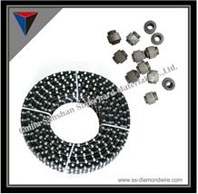Granite Quarry and Blocking and Squaring Diamond Wires,Cutting Tools,Stone Cutting Cables,Granite Cutting Ropes,Diamond Tools