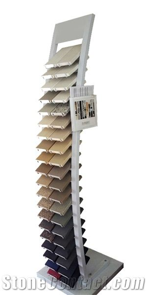 Quartz Sample Display Stands Sandstone Display Frames Spinner Classy Spinner Display Stands