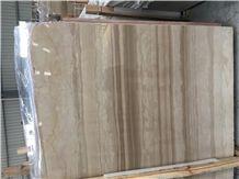 Italian Wood Grain Marble Tiles & Slabs, Beige Marble Tiles & Slabs, Natural Building Stone Flooring