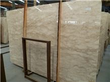 World Expo Cream Marble Tiles & Slabs, High Quality Indonesian Polished, Sand Saw Import Marble, Use for Floor, Wall and Pool Covering
