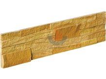 Golden Sandstone ,Yellow Sandstone,China Sandstone Ledge Stone Panels, Stone Veneer , Culture Stone ,Wall Cladding , Exposed Wall Stone