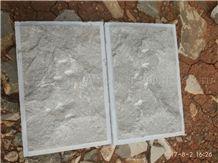 Caesar Grey Marble Mushroom Stone, Ocean Ash Markuni Beige Marble Split Face Mushroom for Villa Exterior Wall Cladding Panel