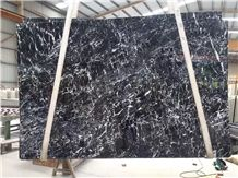 China Nero Marquina Marble Slabs Tiles, China Black Emperador Marble Cut to Size Wall Panel Pattern Tiles,Floor Covering Skirting-Gofar