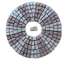 China Red Grey Sesame Granite Cube Stone Pavers,Exterior Pavers Pattern Sets,Cobblestone Patio Flooring Gofar