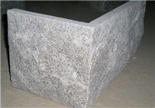 G602 Sesame Grey Cristallo Grigio,New Binaco Sardo Granite Split Face Mushroom Stone Wall Panel Cladding