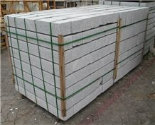 G603 Granite Garden Palisade/Bacuo White Granite Floor Covering Pillars/Balma Grey Cobble Stone/Sesame White Paving