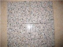 Polished G681 Shrimp Pink Granite Slab Floor Covering/Sunset Red Granite Wall Cladding&Wall Covering/Wild Rose Granite Panel/Rosa Pesco Granite Slab-Gofar