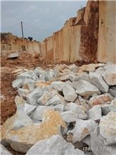 Quarry Owner Caesar Grey Marble Natural Split Face Garden Rock Stone, Ocean Ash Markuni Beige Marble Boulders for Building Wall Exterior Cladding Panel