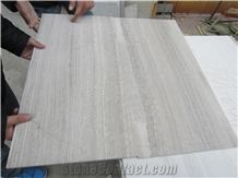 White Wooden Vein Marble Tiles Slabs,Polished China White Marble Panel Villa Interior Wall Cladding,Hotel Floor Covering Skirting for Pattern-Gofar