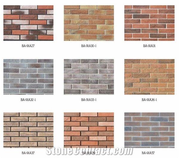 Construction Imitation Brick Wall Panel Interior Kitchen