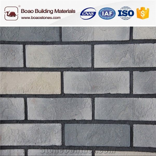 Sound Absorbing Materials Interior Faux Stone Brick Wall Panels