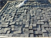 China Zhangpu Black Split Basalt,Cube Stone Paving Sets,Floor Covering,Garden Stepping Pavements,Walkway Pavers,Courtyard Road Pavers,Exterior Pattern