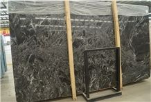 Portoro Antalya Natural Black Marble in China Market,Tile and Big Slab,Floor and Wall Use,Own Quarry Natural Stone with Ce Certificate,Direct Factory