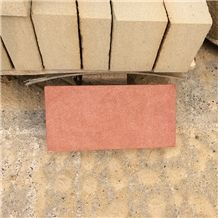 Chinese Red Sandstone Natural Red Sandstone Brick