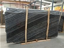 Ancient Forest Black Wooden with White Veins Shuitou Factory Marble Tiles & Slabs, Marble Wall Covering Tiles, Marble Pattern