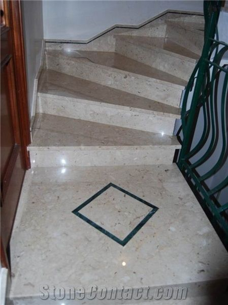 Genial Natural Marble Stone Perlato Sicilia Marble Stair Treads