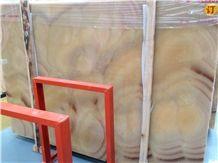 Orange Onyx Wall Tiles Covering & Onyx Pattern