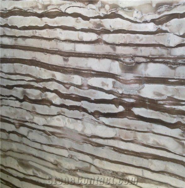 Polished Zebra Type Marble Floor Tiles 12 By 24 Zebra Marble Tiles