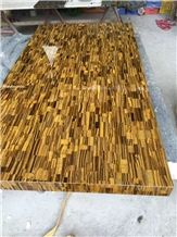 Tiger Eyes Agate Gemstone Semi Precious Stone Slabs Panels for Tile and Countertop