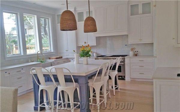 Terrific Snow White Quartz Solid Surface Kitchen Bench Top Table Inzonedesignstudio Interior Chair Design Inzonedesignstudiocom