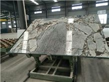 Titanic Storm Marble Slabs, Veins Black & Brown Marble