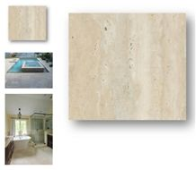 Junin Travertine, Ivory Travertine 30x30 Tile for Interiors