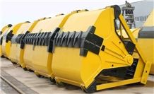 Electric Monorail Grab Crane for Bulk Cargo