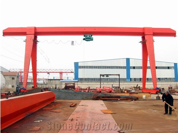 Mh Model Box Frame Single Beam Electric Mobile Gantry Crane from ...