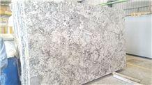 Oyster Pearl Granite Slabs & Tiles, India White Granite