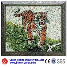 Pebble Stone Mosaic Art Works,Art Design,Creative Stones,Creative Works,Inlaid Crafts,Mosaic Art Works,Art Works