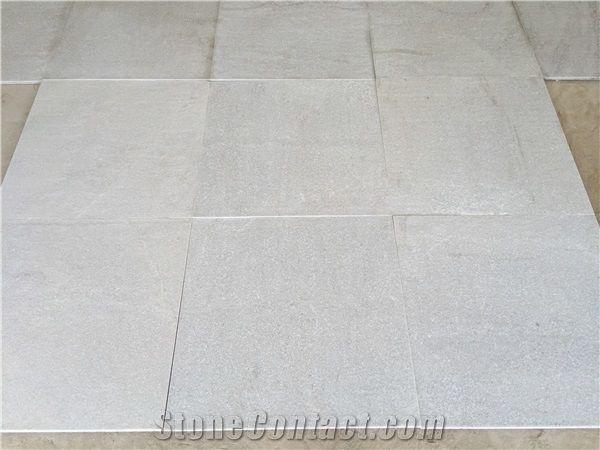 Natural Stone Quartzite Tile Spa White