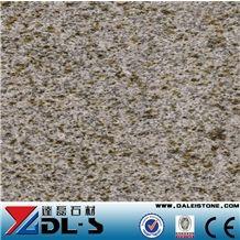 China Dark Yellow G682 Golden Rusty Granite Polished for Bathroom Kitchen Countertop,Vanity Top,Bar Top,Island Top,Desk Tops,Curved Bench Tops,Work Top