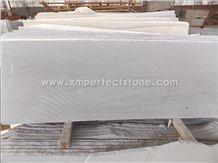 China White Sandstone,Chinese White Honed Sandstone Slabs & Tiles