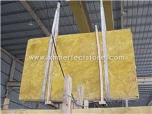 Chinese Giallo Siena Gold Marble/Royal Golden Marble/Huang Jin Gui Big Slab for Marble Pattern