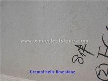 Crema Bello Limestone with Big Grain Type