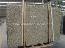 Giallo Napoli Granite/Venetian Granite/Napoli Gold Granite Big Slabs from Brazil Yellow Granite