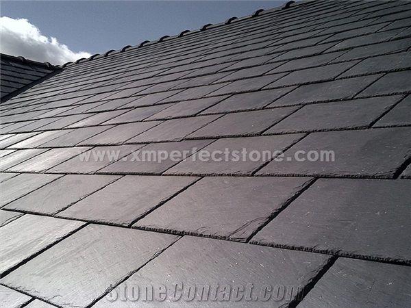 Nice Black Slate Roof Tiles Slate Tile Roof And Roofing Tiles