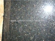 Opalescence Black Pearl Granite/India Black Pearl Granite Big Slabs for Countertop