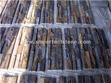 Rusty Stone Veneer,Dark Rusty Decorative Cultured Stone Tile