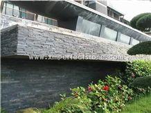 Slate Cultured Stone,Slate Wall Panels,Black Slate Panel ,Black Slate Wall Cladding ,Wall Cladding