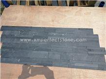 Slate Stone Decor,Black Exposed Wall Culture Stone