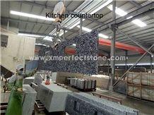 Water Wave/Spray White/Mengyin Seawave Flower Granite Kitchen Countertop