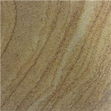 China Wooden Sandstone Slabs Tiles