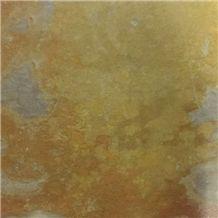 China Yellow Slate Slabs & Tiles