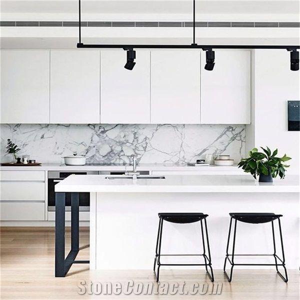 Acrylic Stone European Style Modern Kitchen Bar Counter ...