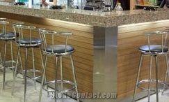Classic Design Commercial Bar Counter Artificial Stone Bar Top ...