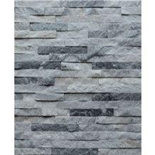 Cloudy Grey Marble Culture Stone, Wallstone, Ledgstone Panel, Split Face Loose Stone