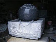 Granite Fortune Ball, Stone Fortune Ball, Granite Fountain, Garden Fountains,Stone Ball, Water Fountain